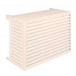 Verkleidung für Klimaanlagen-Ausseneinheit Modell Performance in Cremeweiss